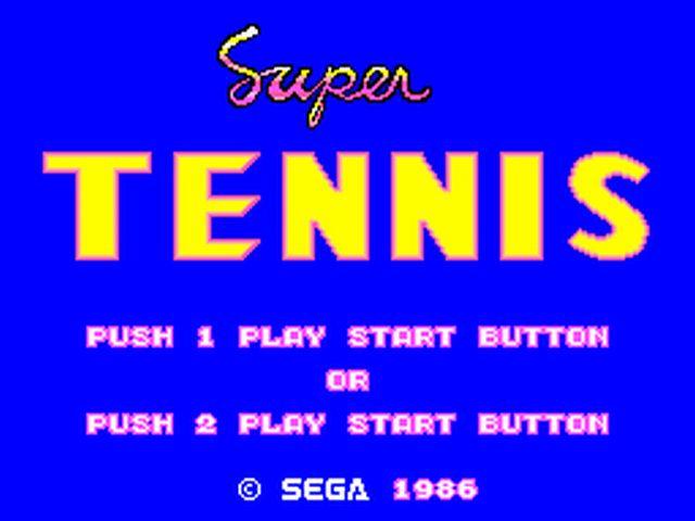 SuperTennis M.System Editeur 011