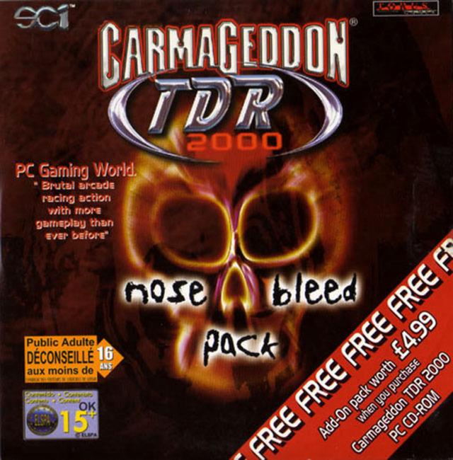 CarmageddonTDR2000NoseBleed PC Jaquette 001