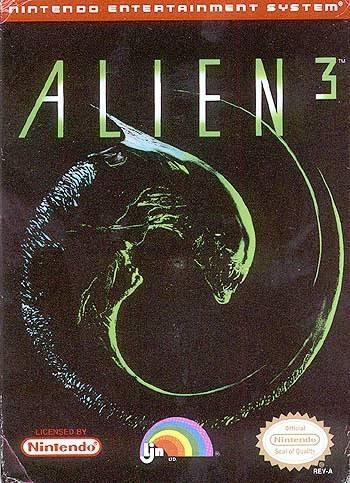Alien3 NES Jaquette 001
