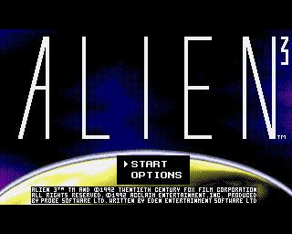 Alien3 Amiga Editeur 001
