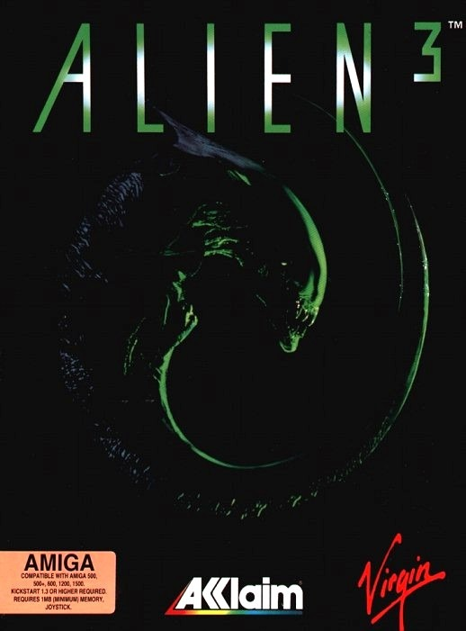 Alien3 Amiga Jaquette 001