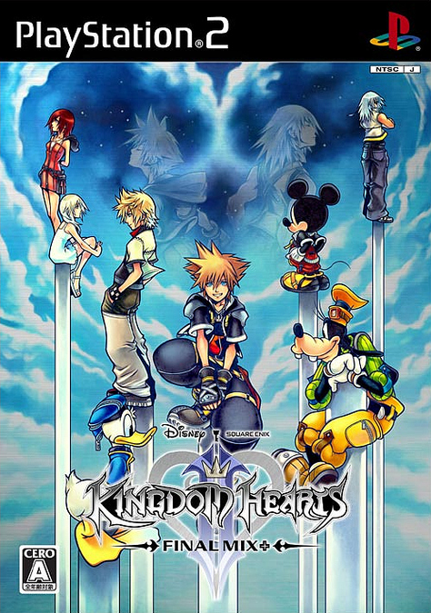 kingdomheart2finalmix PS2 jaquette