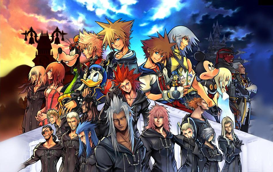 kingdomheart2finalmix PS2 visuel 001