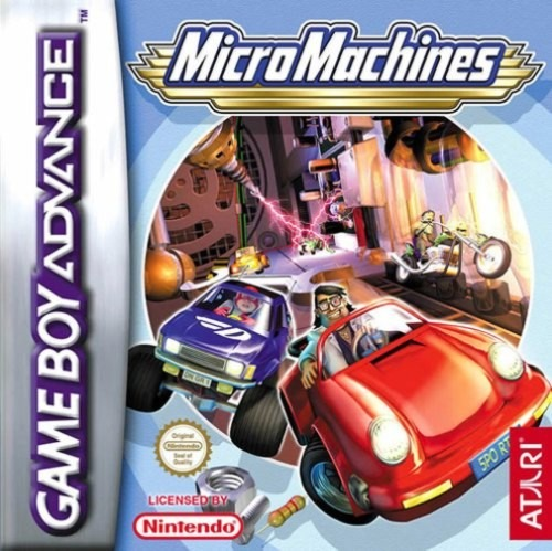 MicroMachines GBA