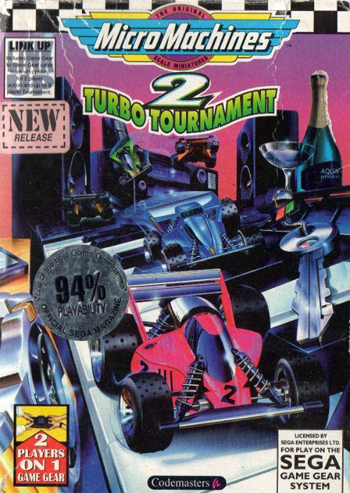 MicroMachines2TurboTournament GameGear Jaquette 001