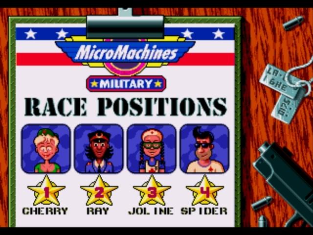 MicroMachinesMilitary Megadrive Editeur 011
