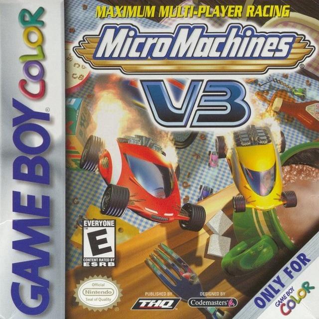 MicroMachinesV3 GBColor Jaquette 001