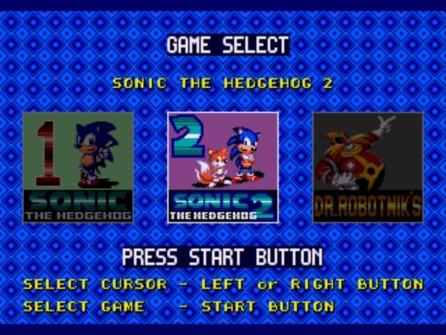 SonicCompilation Megadrive Editeur 011