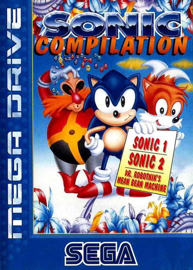 SonicCompilation Megadrive Jaquette 001