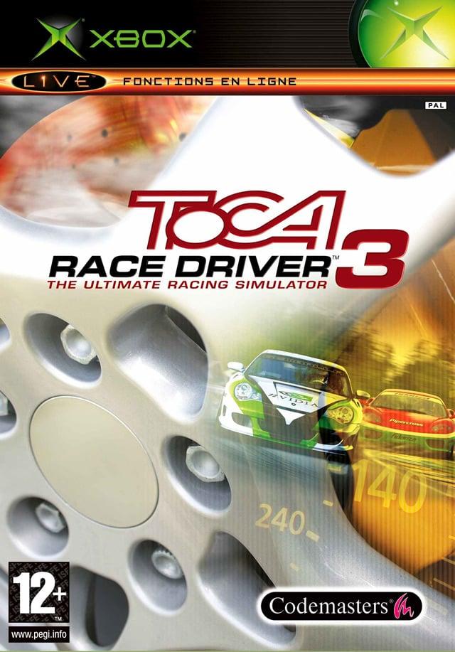 TOCARaceDriver3 Xbox Jaquette 001