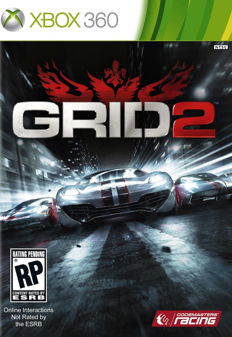 RaceDriver-GRID2 360 Jaquette 001