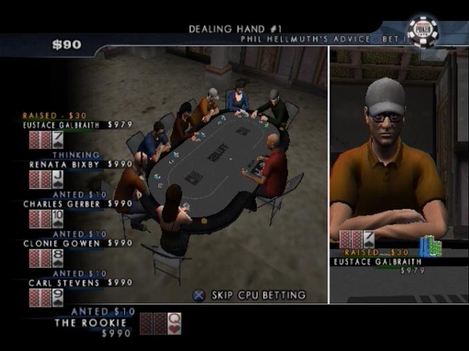 WorldSeriesofPoker2008-BattlefortheBracelets PS2 Editeur 008