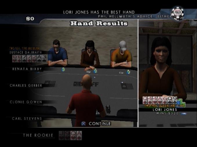 WorldSeriesofPoker2008-BattlefortheBracelets PS2 Editeur 010