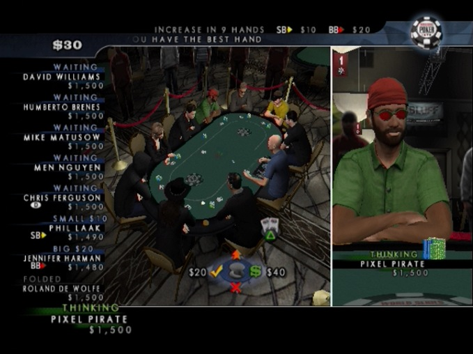WorldSeriesofPoker2008-BattlefortheBracelets PS2 Editeur 015