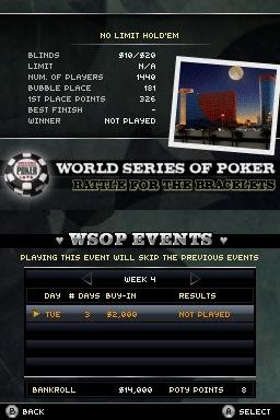 WorldSeriesofPoker2008-BattlefortheBracelets DS Editeur 005