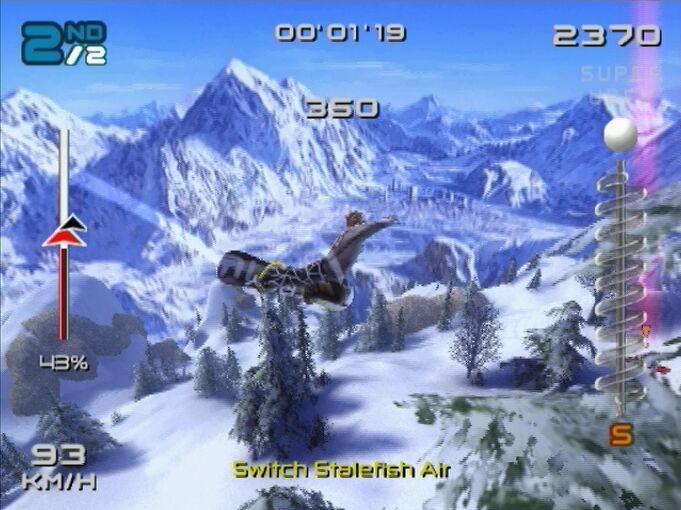 SSX3 PS2 Editeur 006