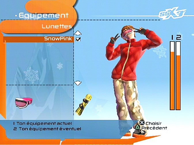 SSX3 PS2 Editeur 024