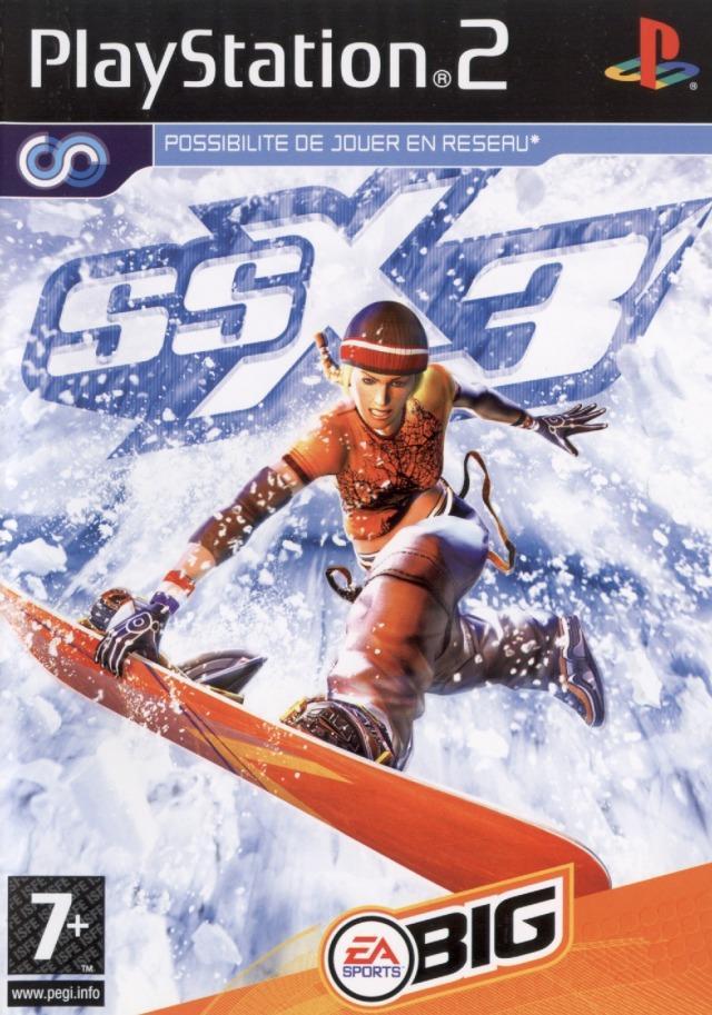 SSX3 PS2 Jaquette 001