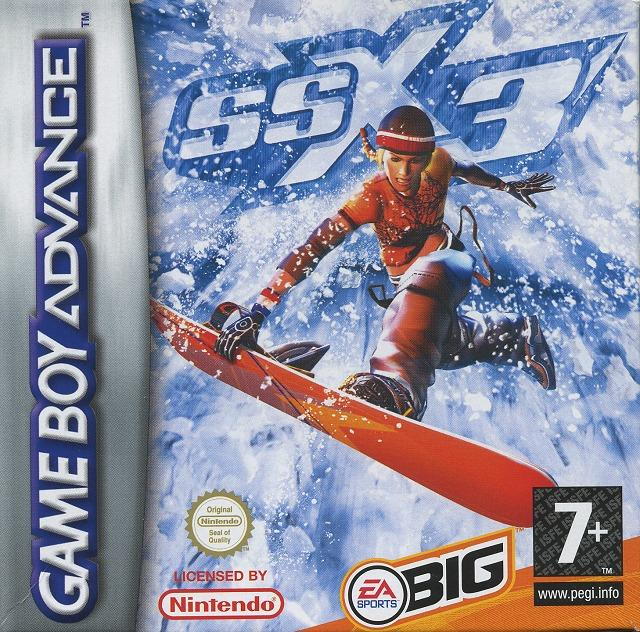 SSX3 GBA Jaquette 001