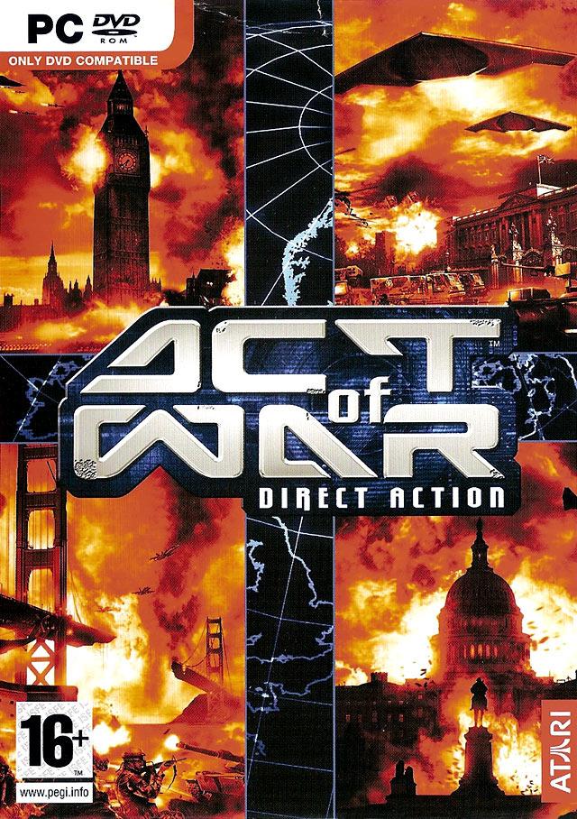 ActofWar-DirectAction PC Jaquette 001