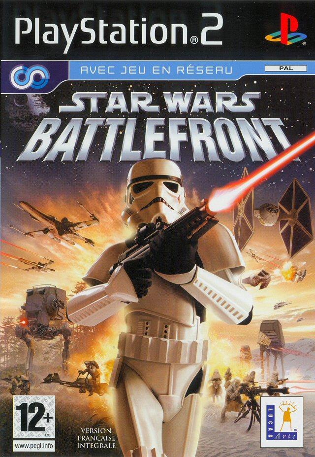 StarWarsBattlefront PS2 Jaquette 001