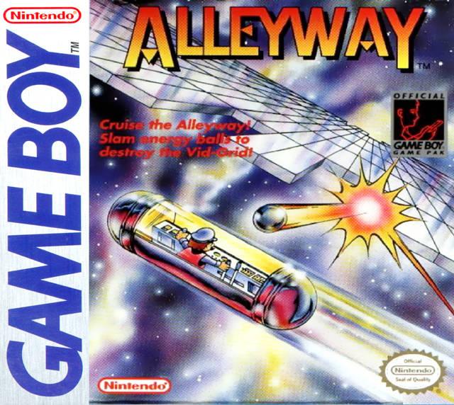 Alleyway GB Jaquette 001