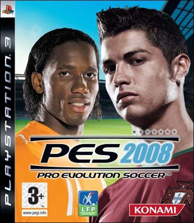 PES2008 PS3 jaquette