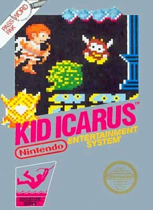 KidIcarus NES Jaquette 001