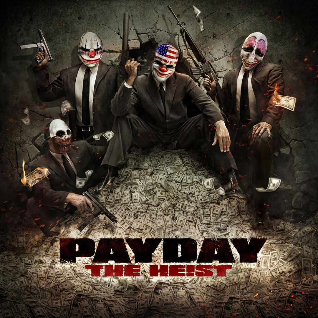 Payday-TheHeist PC Jaquette 001