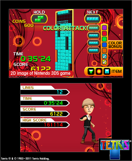 Tetris3DS 3DS Editeur 006