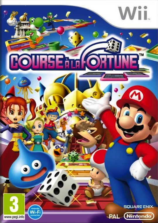 CoursealaFortune Wii Jaquette 002