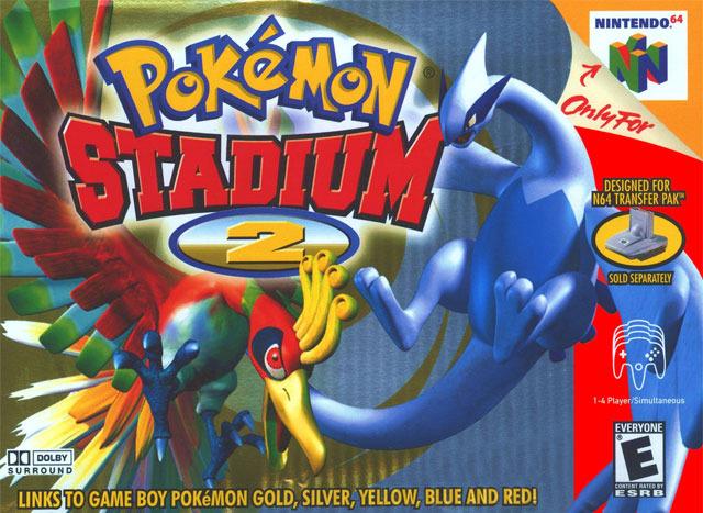 PokemonStadium2 N64 Jaquette 001
