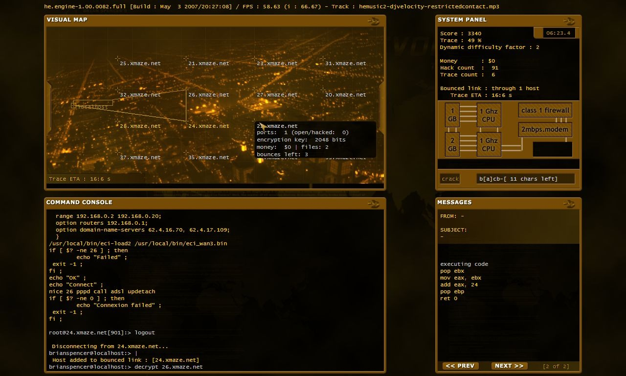 HackerEvolution PC Editeur 001