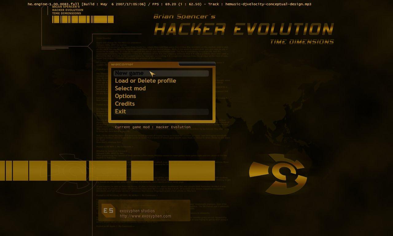HackerEvolution PC Editeur 003