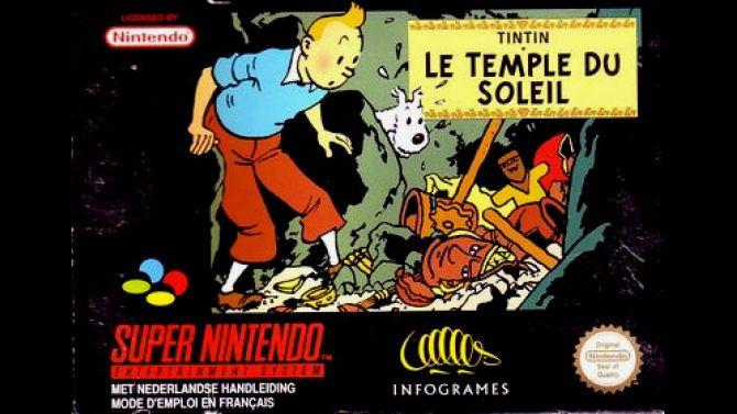 Image Tintin : Le Temple du Soleil