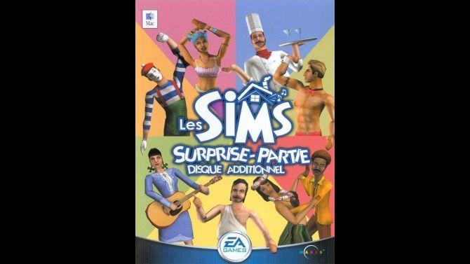 Image Les Sims : Surprise-Partie