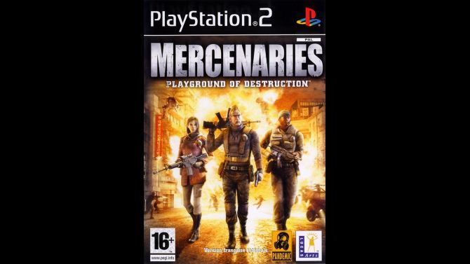 Image Mercenaries : Playground of Destruction