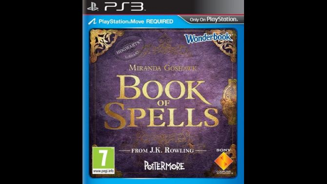 Image Wonderbook : Book of Spells