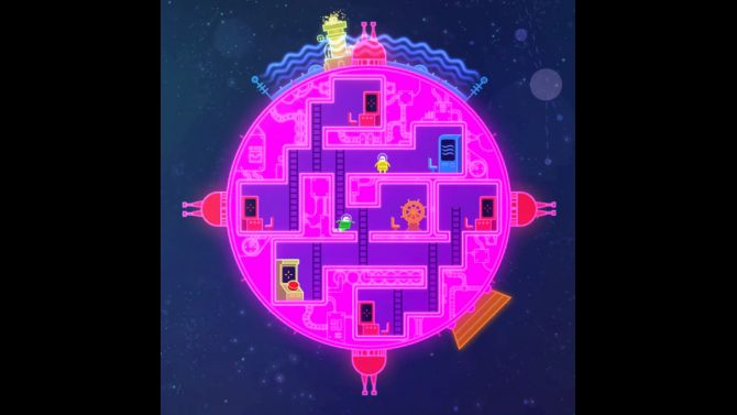 Image Lovers In A Dangerous Spacetime