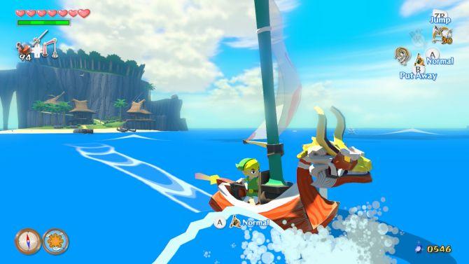 Test The Legend Of Zelda The Wind Waker Hd Wii U