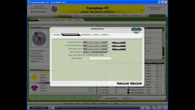 Image Football Manager Live