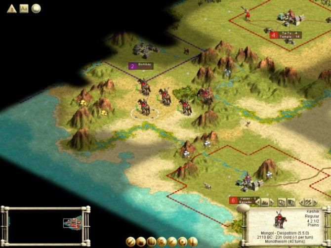 Image Civilization III : Play the World