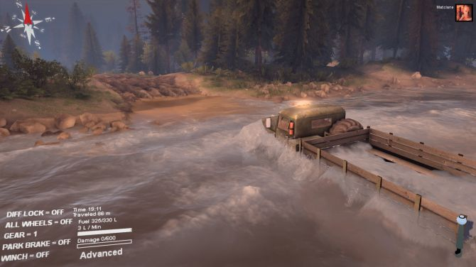 Image Spintires Camions Tout-Terrain Simulator