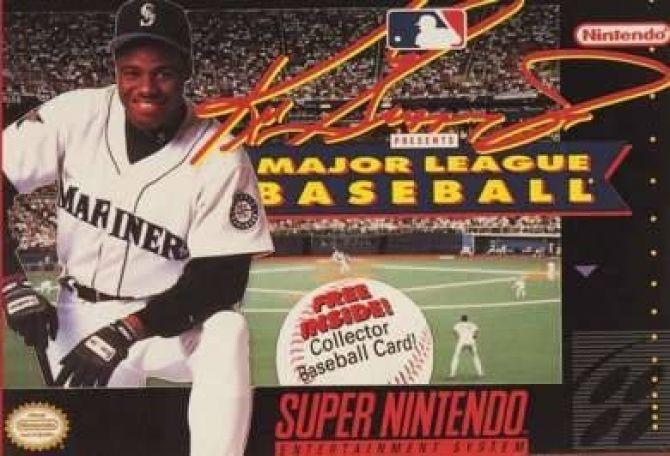 Image Ken Griffey Jr presents Major League Baseball