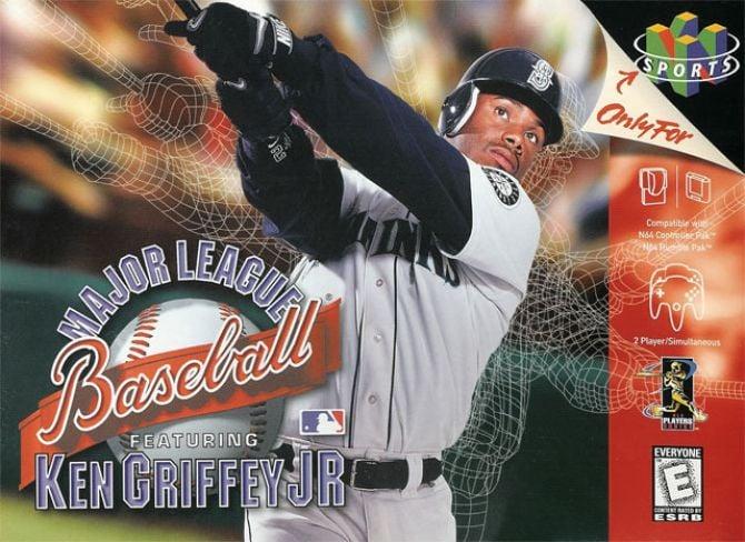 Image Major League Baseball featuring Ken Griffey Jr