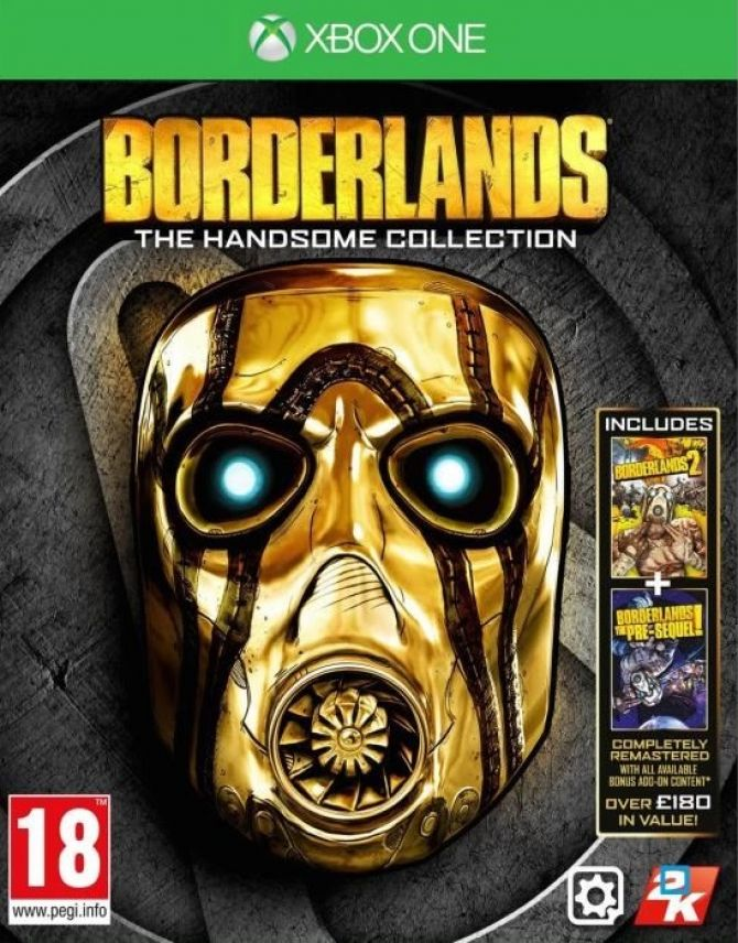 Image Borderlands : The Handsome Collection