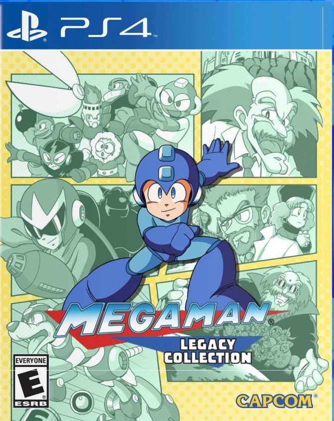 Image Mega Man Legacy Collection
