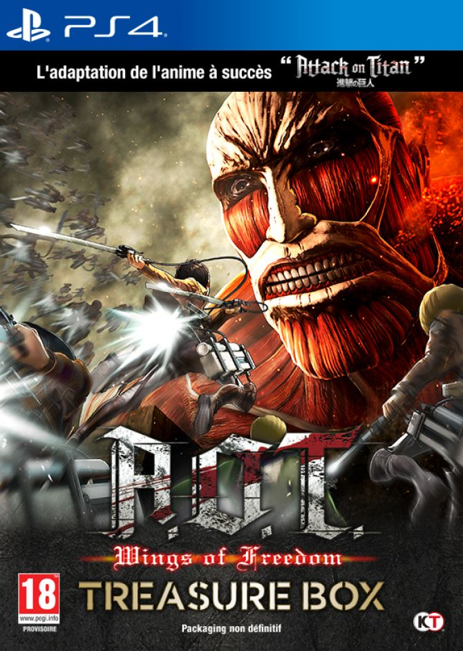 Image Attack on Titan : Wings of Freedom