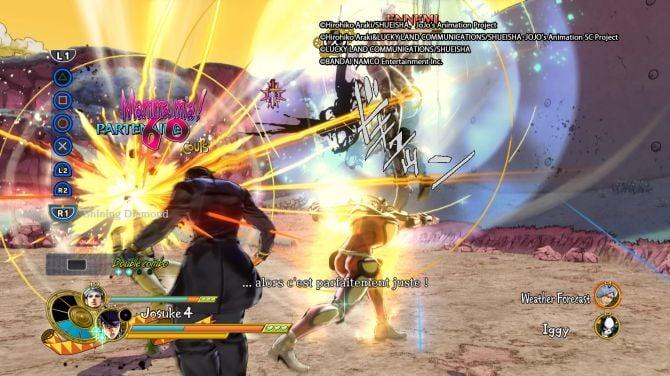 Test de Jojo's Bizarre Adventure : Eyes of Heaven (PS4)