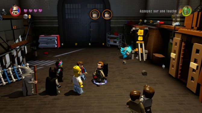 test de lego dimensions ghostbusters level pack ps4 xbox 360 xbox one wii u playstation 3. Black Bedroom Furniture Sets. Home Design Ideas